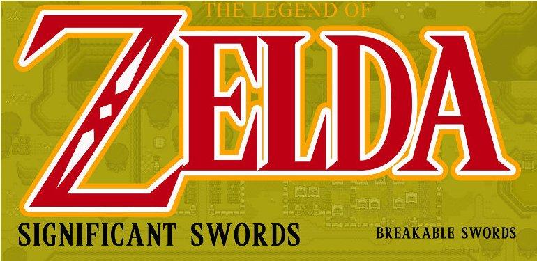 Les épées de Zelda