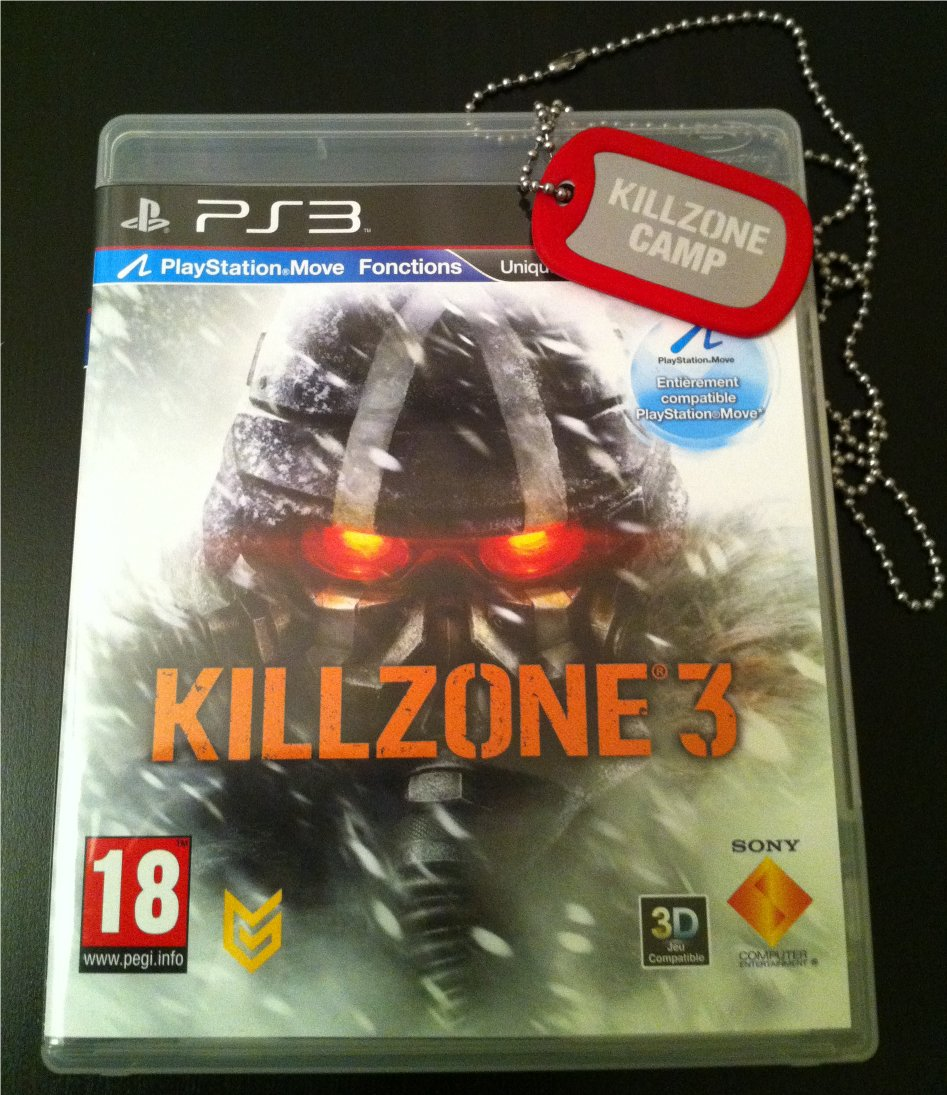 Boitier Killzone 3
