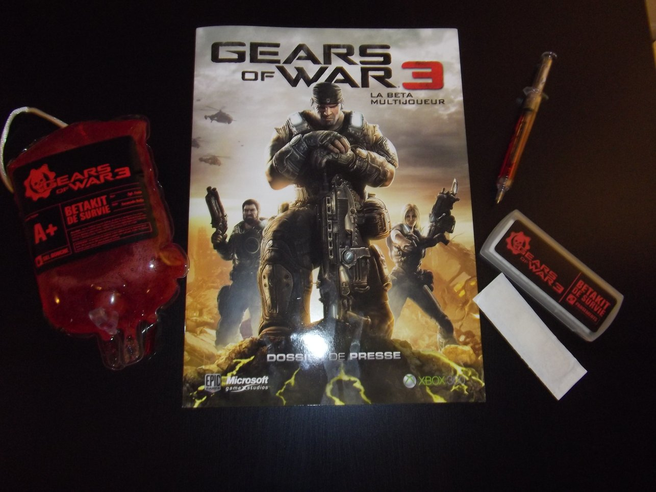 Kit press Gears of Wars 3