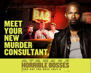 Wallpaper - Jamie Foxx - Horribles bosses - comment tuer son boss