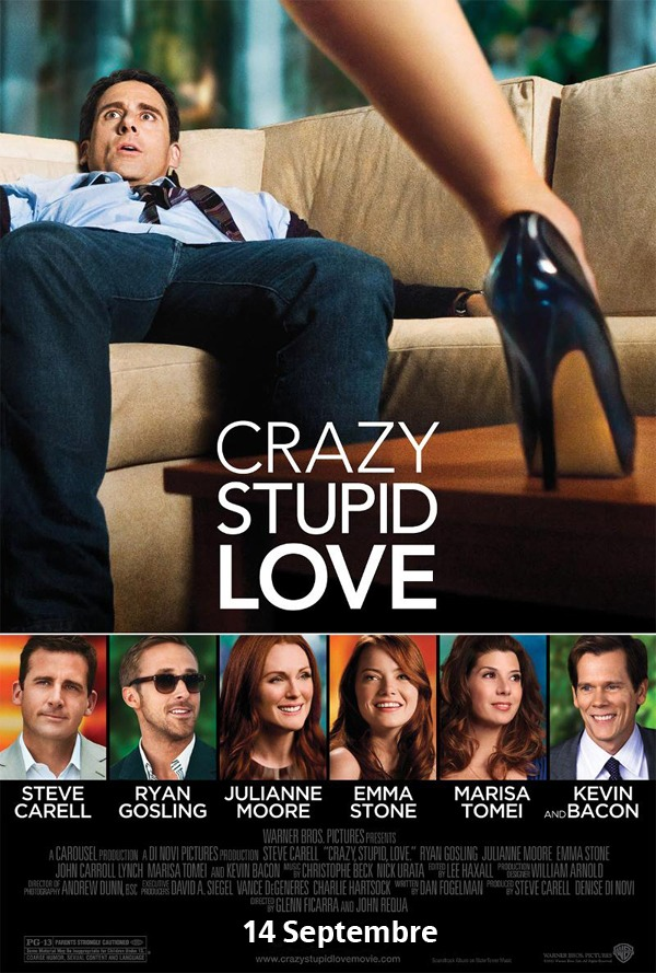 Affiche Crazy Stupid Love