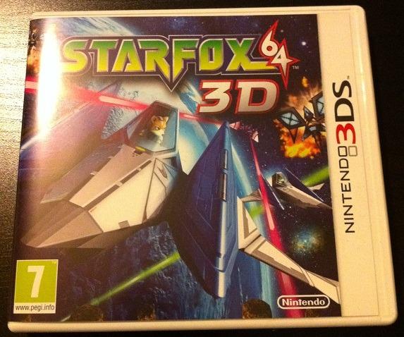 Jaquette Starfox 64 3D