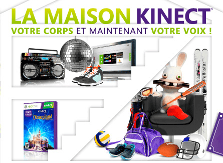 La maison Kinect