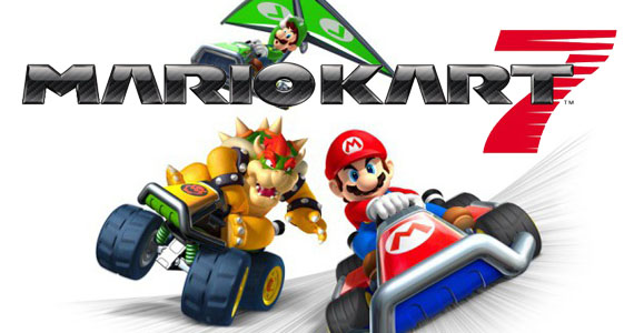 mario kart 7 3ds astuces raccourcis d bloquer personnages et objet. Black Bedroom Furniture Sets. Home Design Ideas