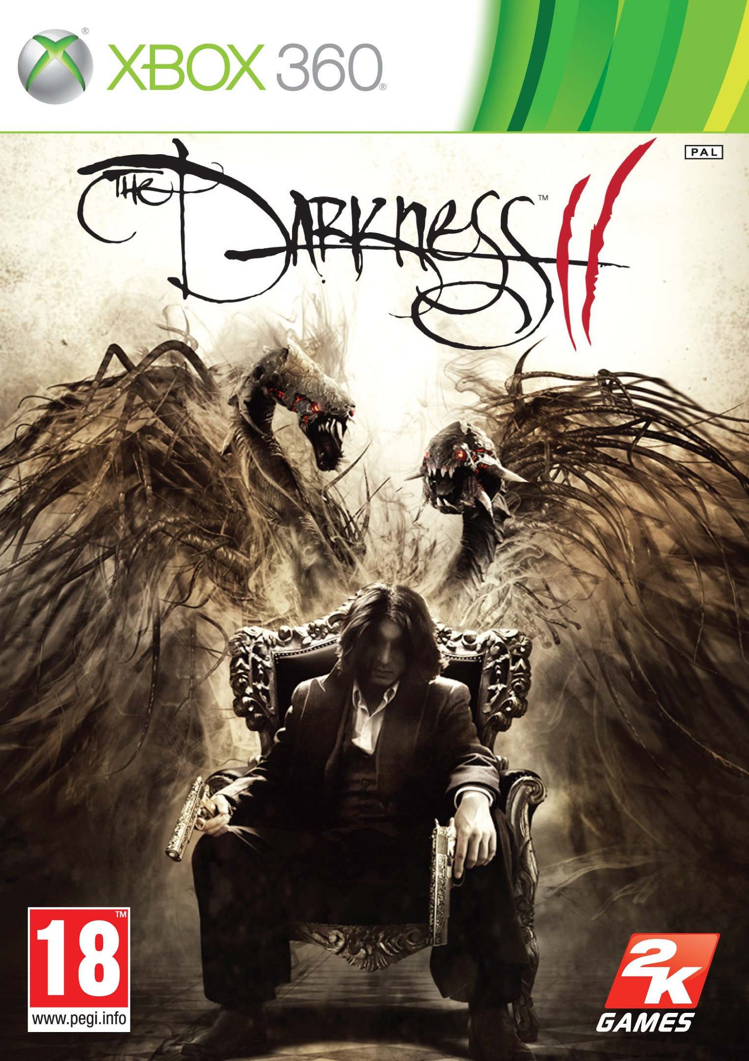 2K THE DARKNESS II Packaging Xbox360