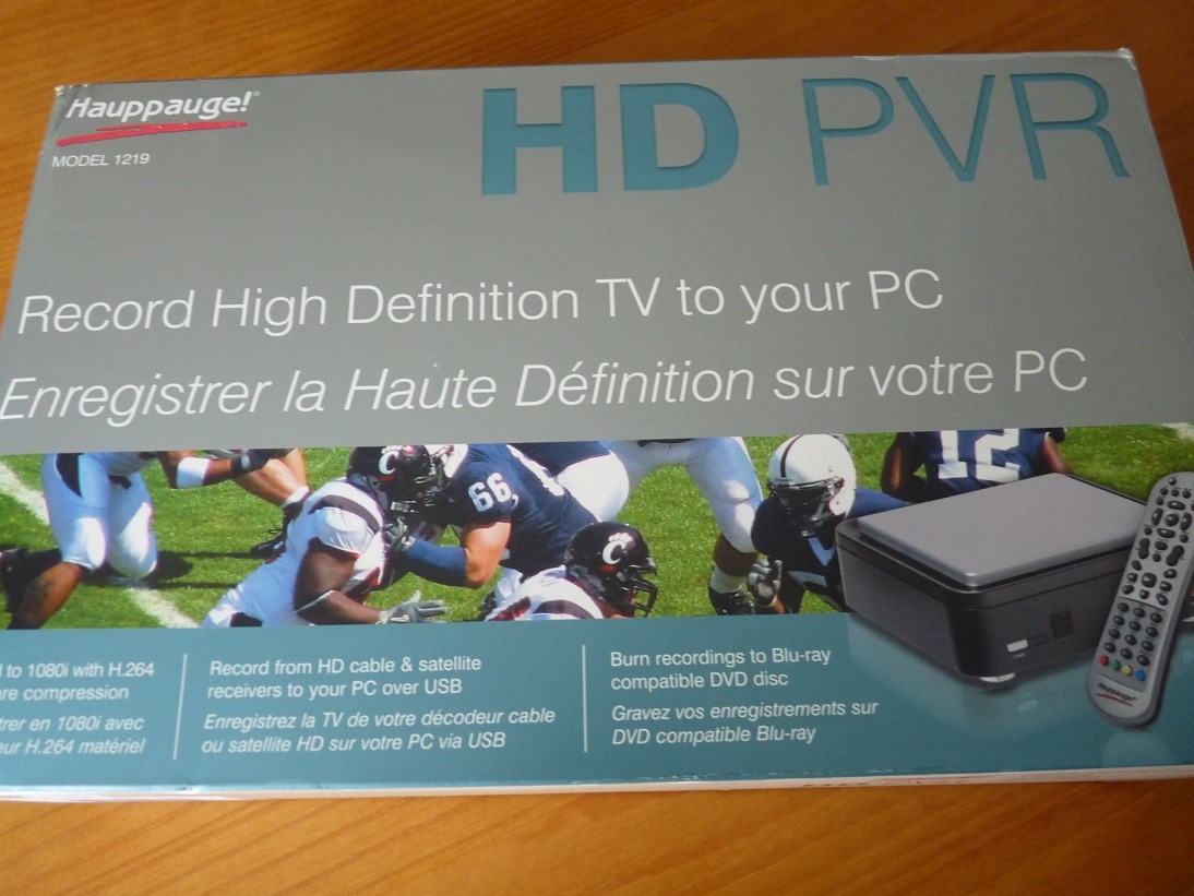 Achat : Hauppauge HD PVR