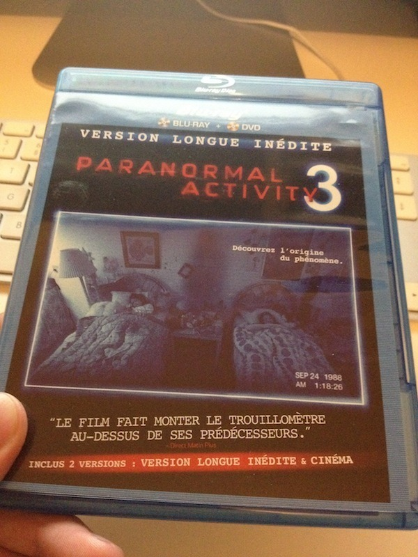 Paranormal Activity - Blu Ray