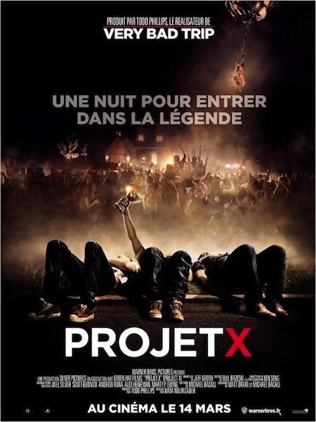 Projet X - Affiche