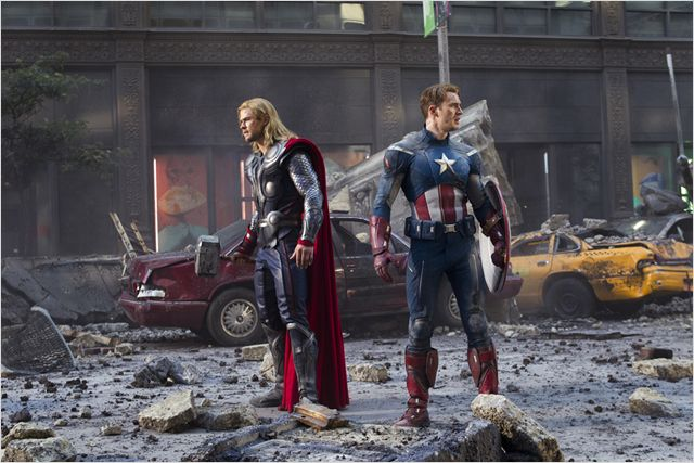 Avengers - Thor et Captain America