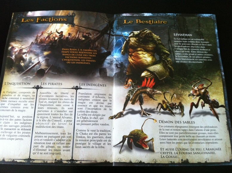 Press kit : Le bestiaire de Risen 2