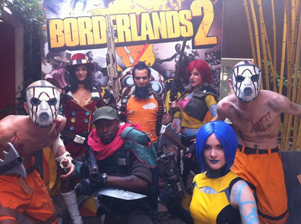 Borderlands Cosplay the French Group