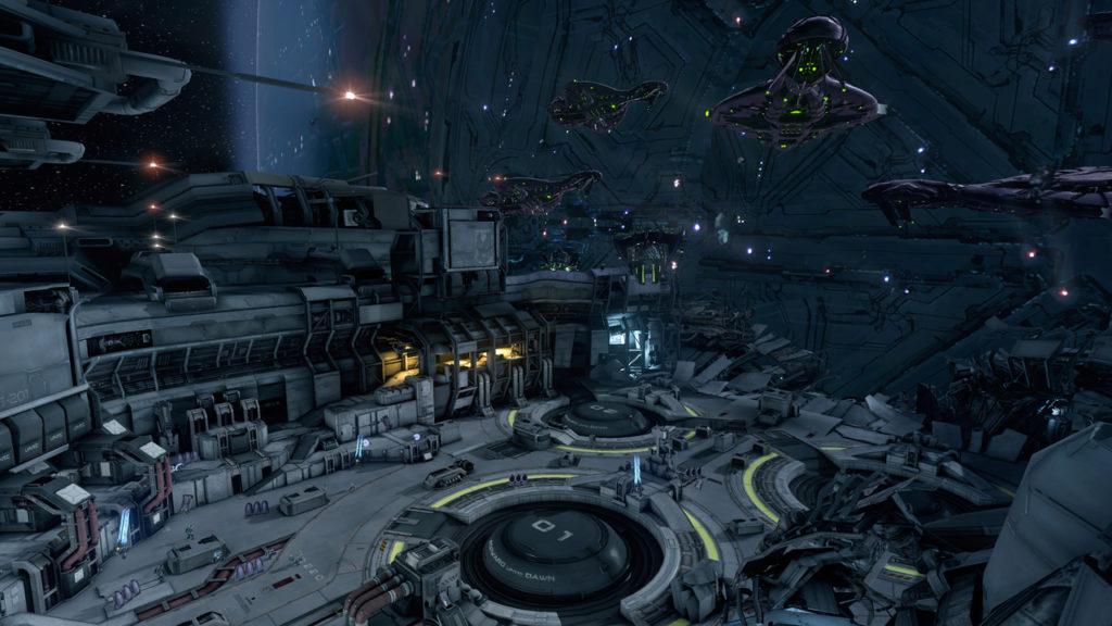 Se réveiller dans un vaisseau coupé en deux avec une flotte Covenante qui tape à la porte. Only in Halo4