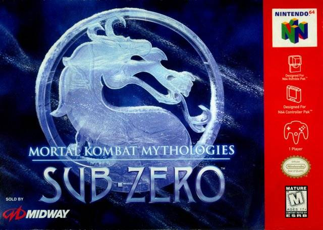 Mortal Kombat Mythologies - Sub-Zero