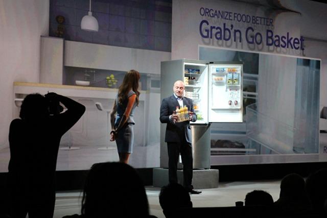 Le nouveau réfrigérateur Samsung (RB3050)