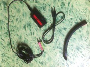 Fins sans être fragiles, les câbles sont un petit plus bienvenu