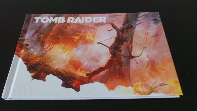"Le livre ""Art of Tomb Raider"""