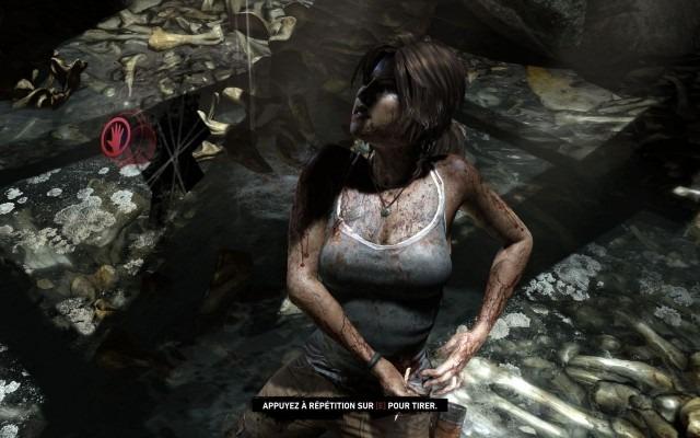 ...Ce n'est que le début de multiples chutes ( Lara doit avoir le même squelette que Wolverine).