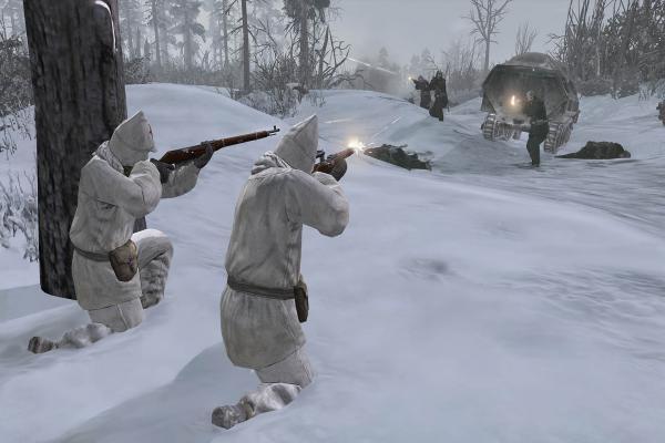 Les Russes étant chez eux, ils savaient comment chasser.