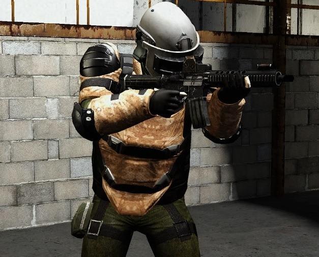 Autant les flics sans protection ne sont pas forcément un problème, les unités spéciales sont blindées de la tête aux pieds.