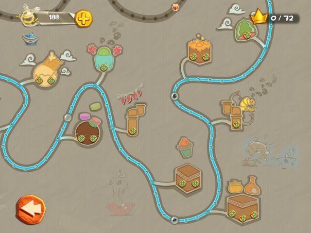 Rayman Fiesta Run - 75 niveaux, quatre mondes, une map gigantesque.