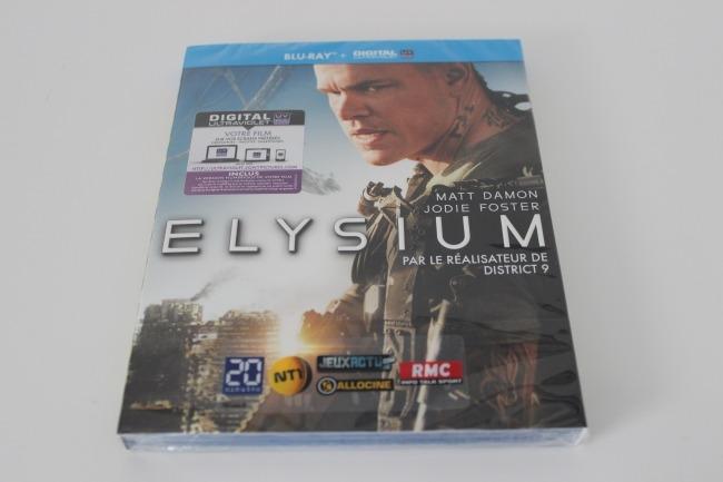 Et bien entendu le Blu Ray Elysium !