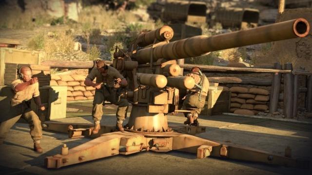Détruire ce canon de 88 Flak ne sera pas facile sans se faire détecter.