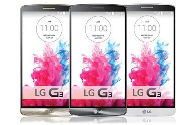 Le LG G3 est disponible en 3 coloris.
