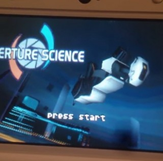 Vous voulez jouer à Portal sur 3DS ? C'est possible !