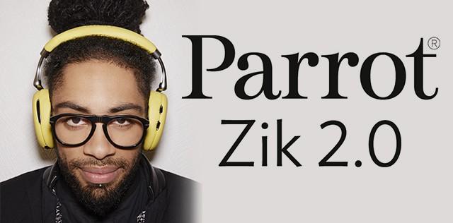 Test : Casque Parrot Zik 2.0