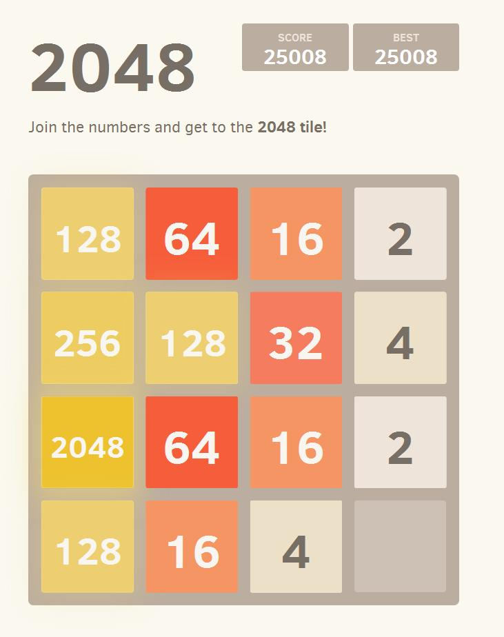 2048-highscore
