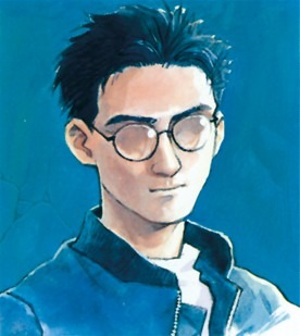 Yoshiyuki-Sadamoto-autoportrait-right