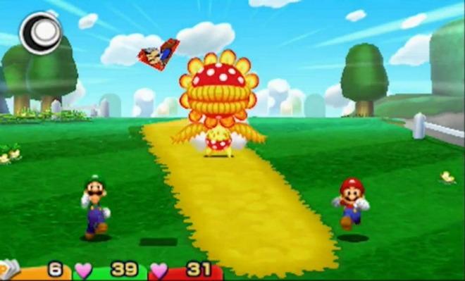 Mario Luigi Flower