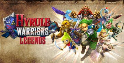 Hyrule Warriors Legends main