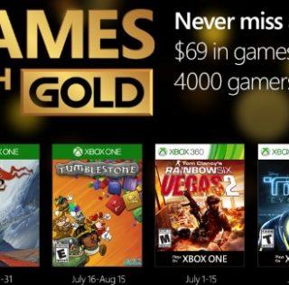 Games With Gold : les jeux offerts en juillet 2016