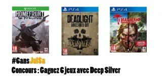 Concours : Gagnez 6 jeux avec Deep Silver