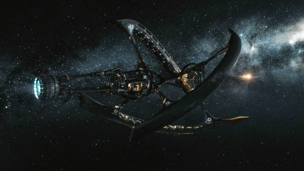 Le vaisseau Avalon est le personnage le plus charismatique du film