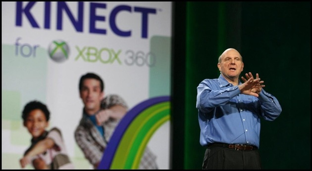Microsoft annonce le résultat des ventes pour Xbox 360 et Kinect