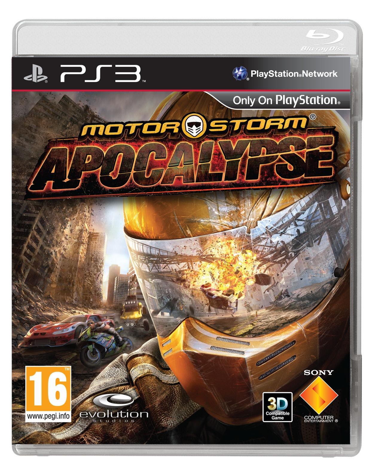Date de sortie de MotorStorm Apocalypse et jaquette officielle