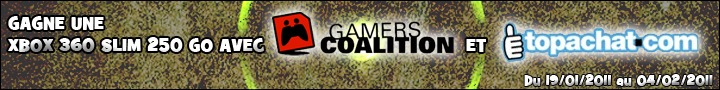Concours : Gagne ta Xbox 360 Slim avec Gamers Coalition !