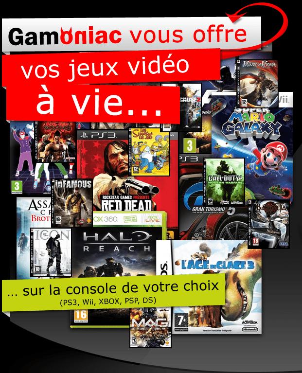 [Concours] Gagnez vos jeux vidéo à vie avec Gamoniac