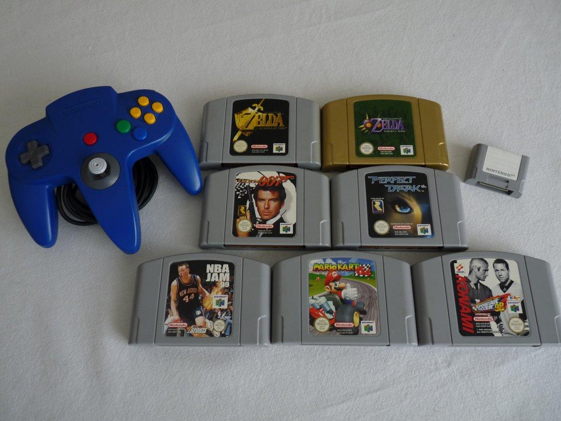 Achat : Accessoires et jeux N64