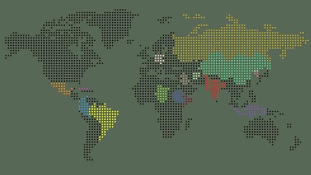 """Infographie : La nationalité des """"méchants"""" dans les jeux vidéos"""