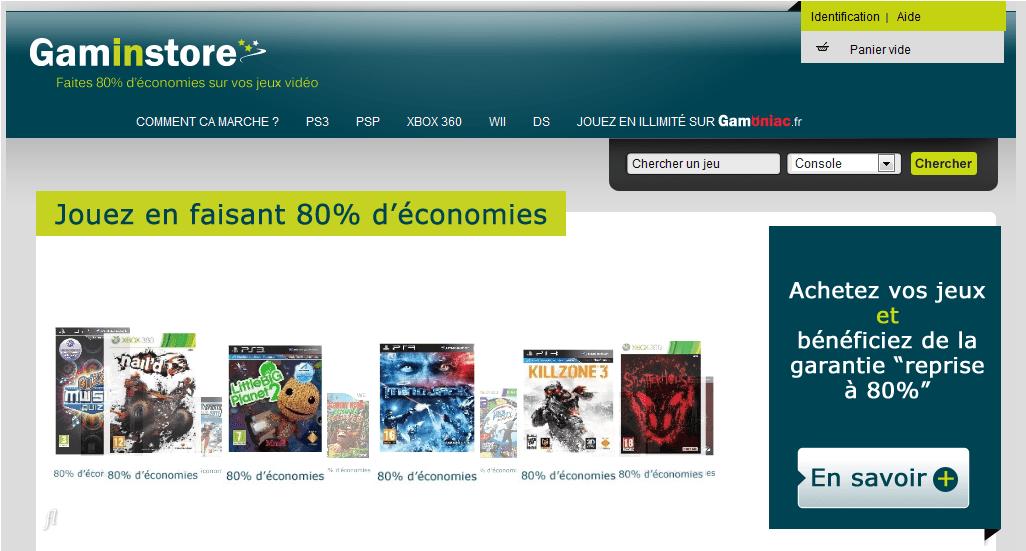 [Bon Plan] Gaminstore : jouez sur console à -80%