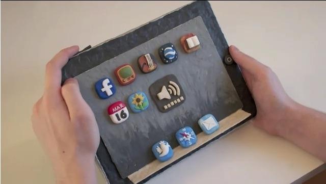 iPad en pâte à modeler