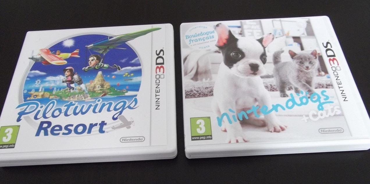 Arrivage : Pilotwings et Nintendogs sur 3DS