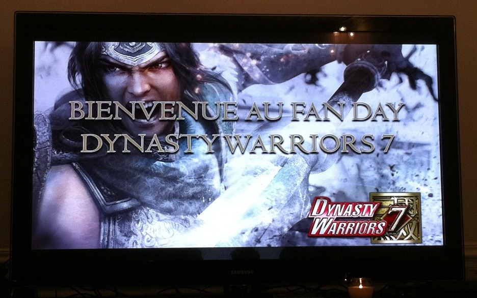 Compte rendu : Fan Day Dynasty Warriors 7