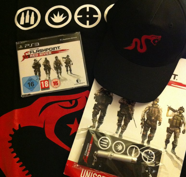 Arrivage : Operation Flashpoint : Red River et ses goodies