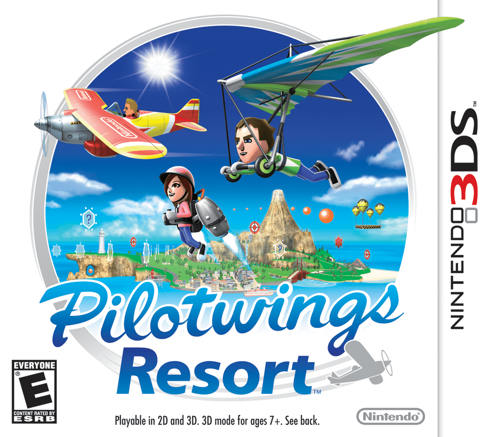 Test : Pilotwings Resort sur 3DS
