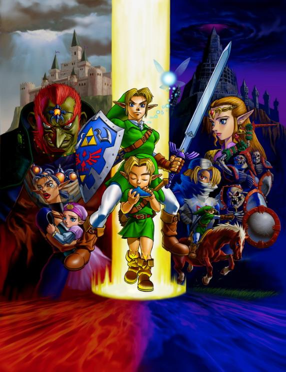 Nintendo annonce  The Legend of Zelda : Ocarina of Time sur 3DS