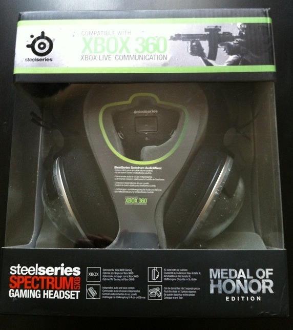 Test : Casque SteelSeries Spectrum 5XB : Medal of Honor Edition (EA)